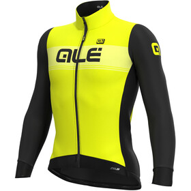 Alé Cycling PR-S Logo DWR LS Jersey Men fluo yellow/black
